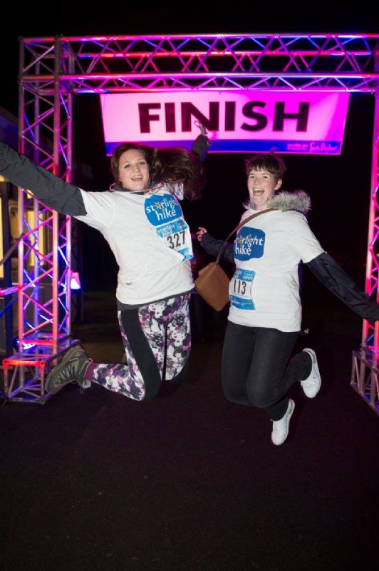 There was a great atmosphere at this year's charity 10k walk. All pictures, Dan Charity