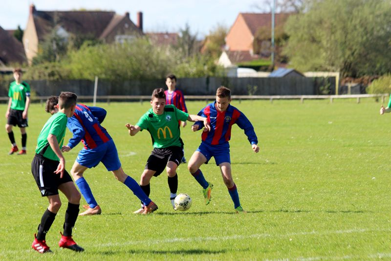 There are five Cheltenham Youth Football League cup finals at Whaddon Road on Sunday and a further four on May 7th