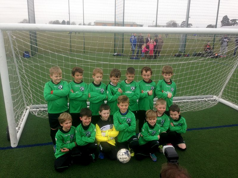 Bishop's Cleeve have teams in the under-8 cup and plate finals