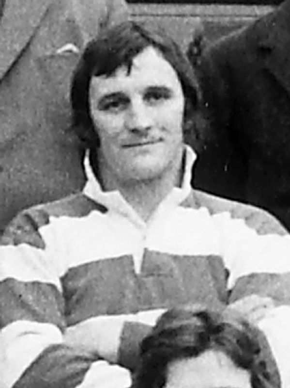 John Bayliss, who played in the centre for Gloucester from 1960 to 1976