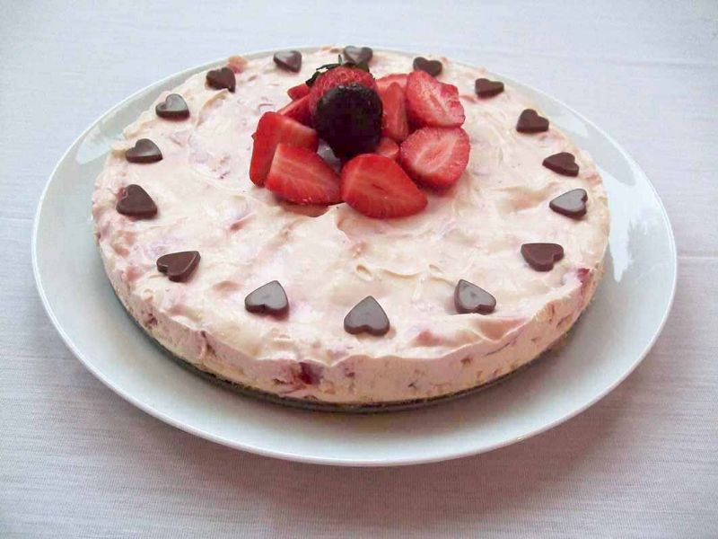Valentine Cheesecake