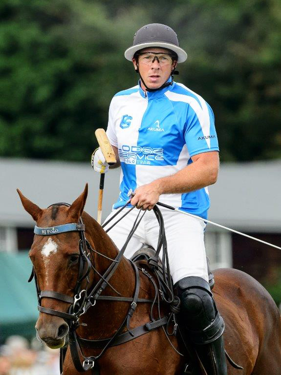 Tom Beim has been playing polo professionally for the past decade. Picture, Cirencester Park Polo Club