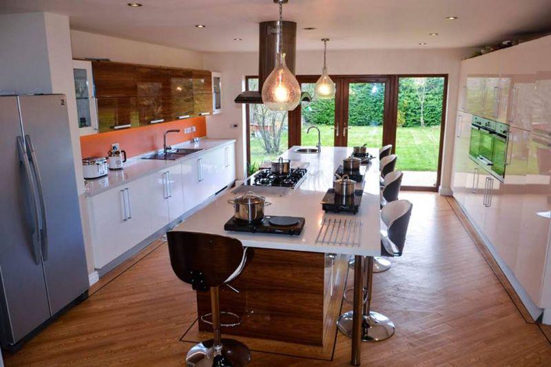 Shazia's enormous kitchen