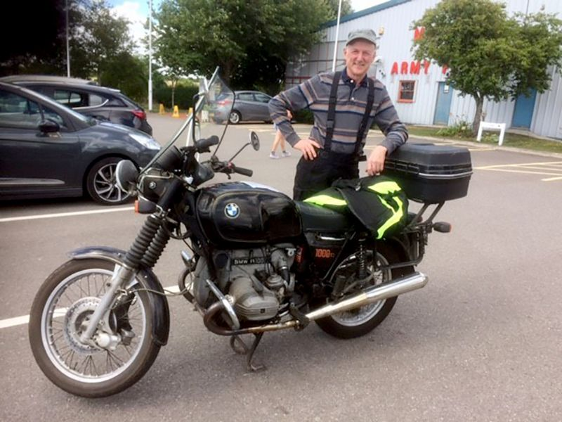 Phil Marsh has been riding bikes for well over 50 years