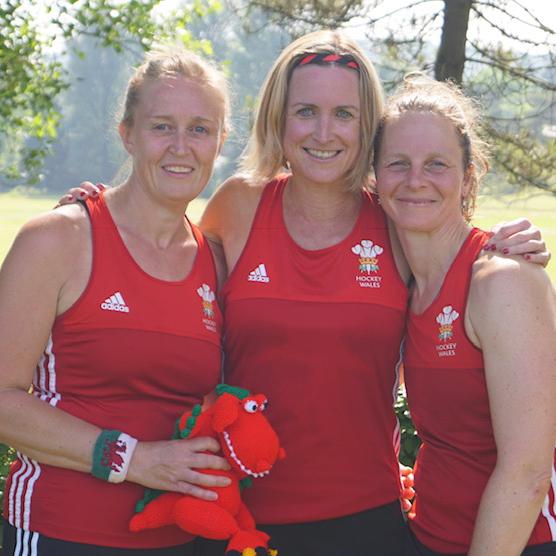 Sara Jane Thompson is a key figure at Lansdown Hockey Club ...