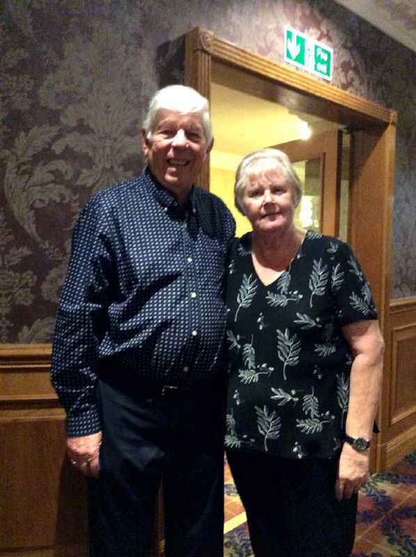 Frank and Gill Hodder