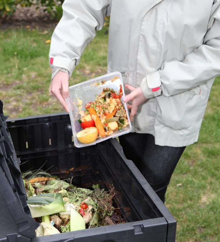 Composting can significantly increase the quality of the soil in your garden and reduces the amount of food waste sent to landfill