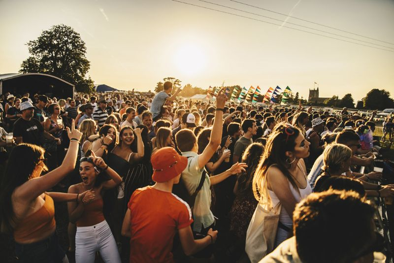 Nibley Festival is one of the most popular music festivals in the area