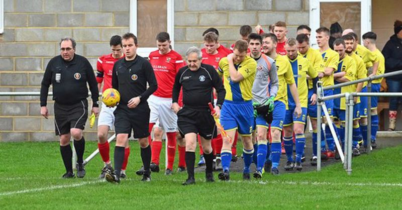 Sharpness defeated Broadwell Amateurs 3-1 on Saturday. Picture, Brian Rossiter