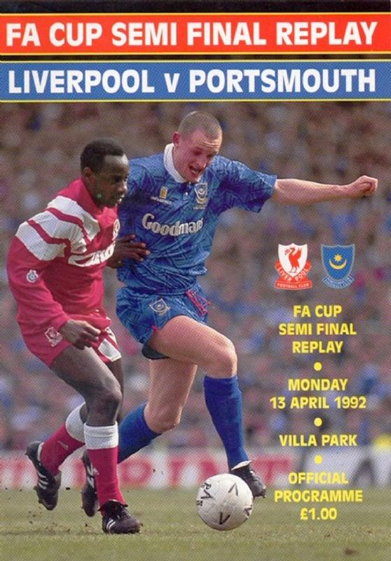 Chris Burns played for Portsmouth against Liverpool in the FA Cup semi-final in 1992