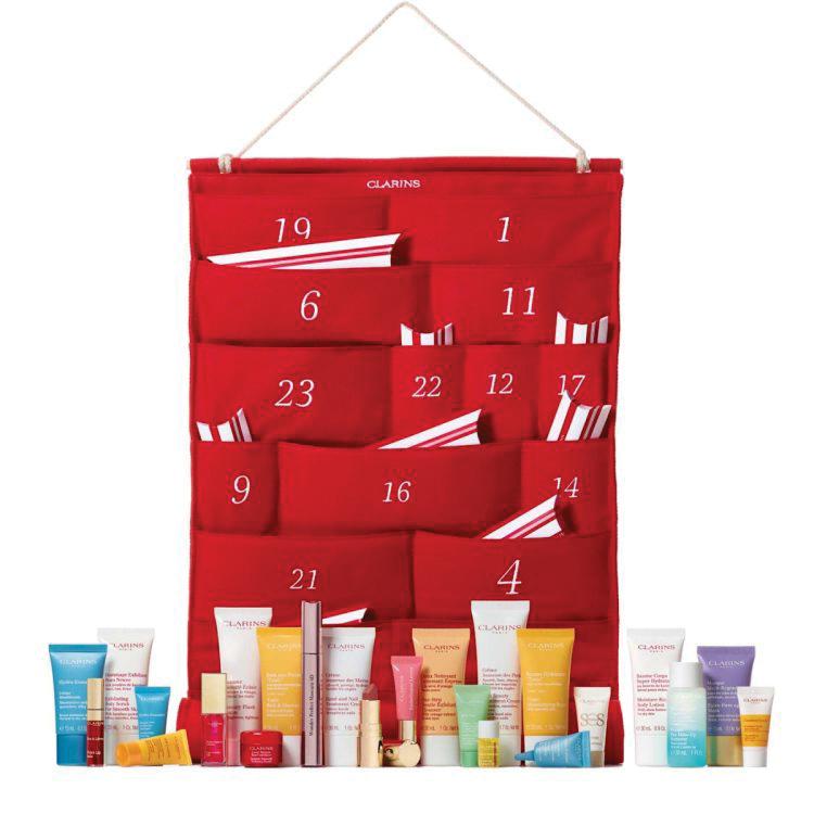 Clarins Beauty Advent Calendar Christmas