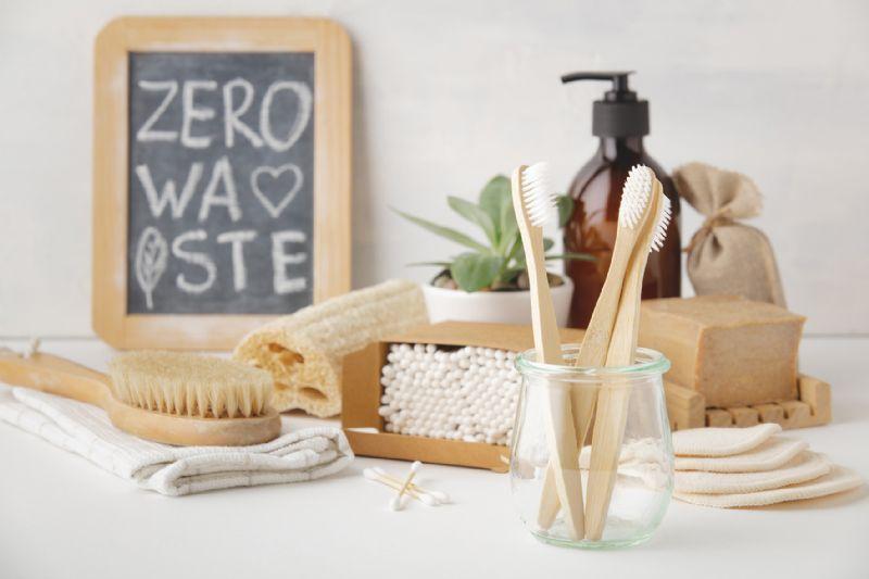 Plastic free zero waste bathroom