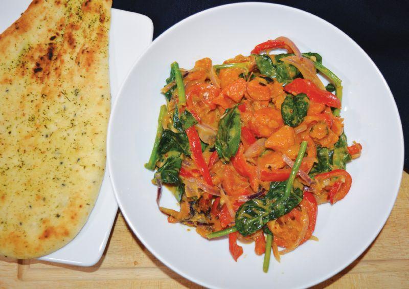 Sri Lankan vegetable curry vegan