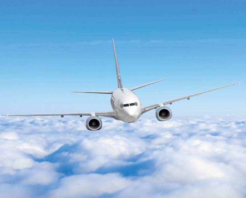 Aeroplane travel holiday