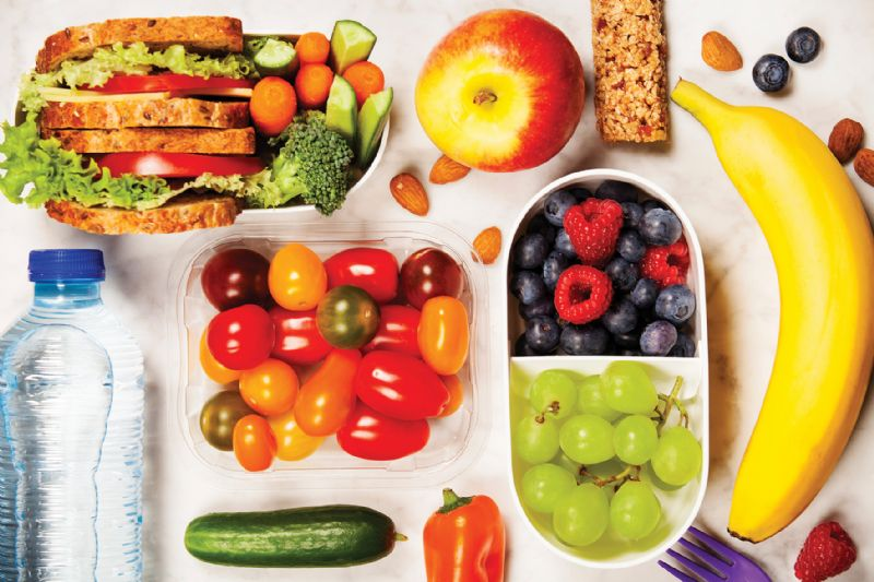 Healthy diet fitness nutrition