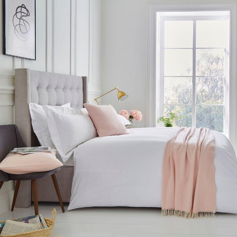Interior design bedroom boutique hotel room