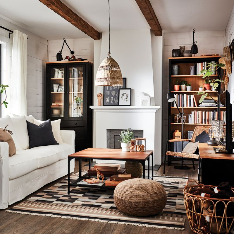 Cosy home interiors living room lounge