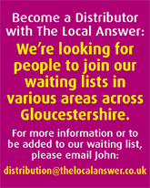 The Local Answer. More magazines through Gloucestershire doors